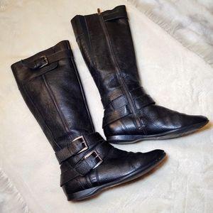 Enzo Angiolini Tall Black Eazeni Boots 5.5